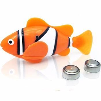 [Giá Sập Sàn ]Cá rô bốt chạy bằng pin combo 3 con tặng 1 con