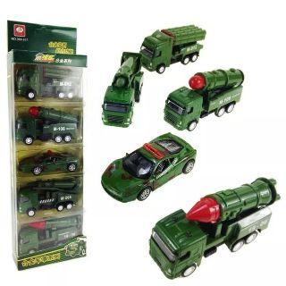 Set 5 chiếc ô tô quân sự