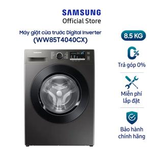 Máy giặt Samsung cửa trước Digital Inverter 8,5kg (WW85T4040CX) thumbnail