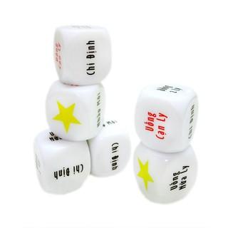 5 cục xúc xắc chơi cá cược