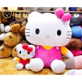 Mèo bông Hello Kitty Size 35cm – 50cm – 70cm