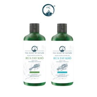 Combo 2 nước rửa tay khô sả chanh, bạc hà PK sát khuẩn 100%- (100ml chai) thumbnail