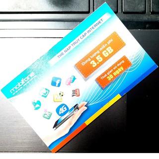 Combo 300 thẻ data 3G Mobifone loại 3,5Gb
