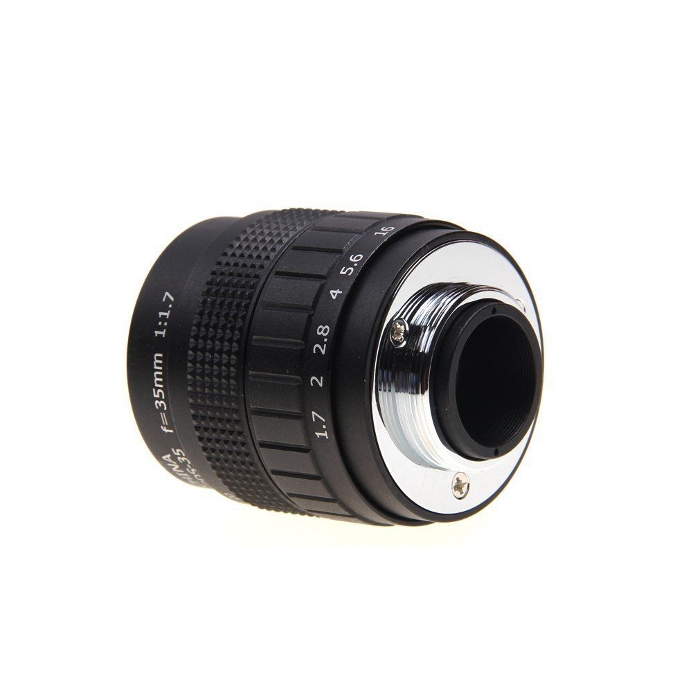 Camera Lens C Mount Digital Mini 35mm F1.7 Movie Accessories Micro-single Portable For Olympus