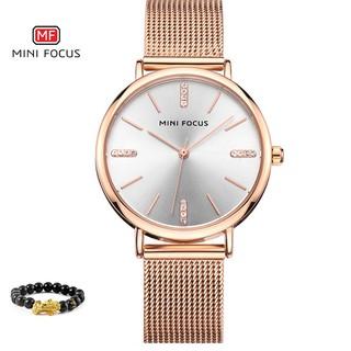 [Tặng vòng tay]Đồng hồ nữ Mini Focus chính hãng MF0036L.04 thép không gỉ thumbnail