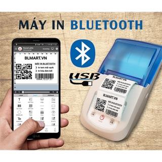 [Mã ELCLXU8 hoàn 5% xu đơn 500k]Máy in tem & hoá đơn bluetooth NYEARLABER