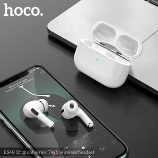 Tai nghe bluetooth kiểu dáng Airpods Pro - Hoco Es48 kiểu dáng chính hãng hoco