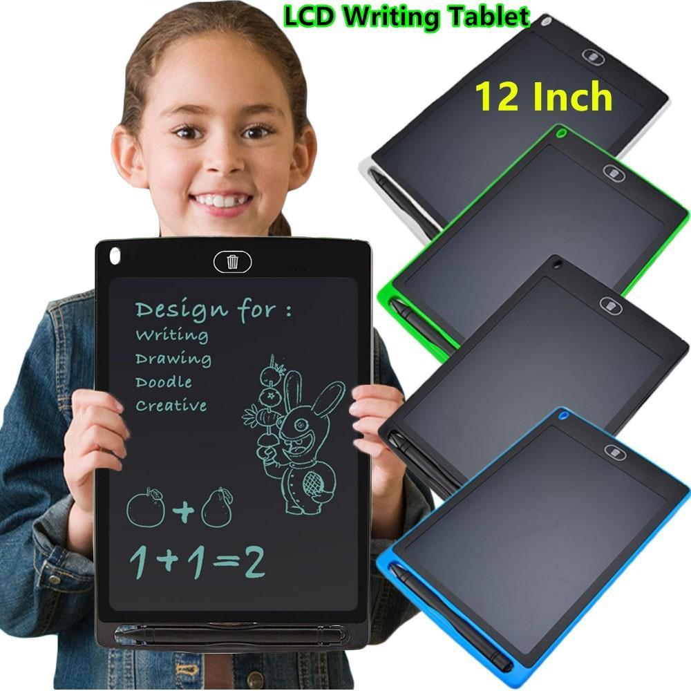Siêu mỏng 12 inch Viết Wordpad Vẽ kỹ thuật số Miếng đệm điện tử Quà tặng cho trẻ em