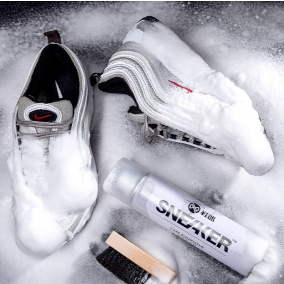 Chai Xịt Bọt Tuyết Vệ Sinh Giày Dép Tẩy Trắng Sneaker (hàng chuẩn)