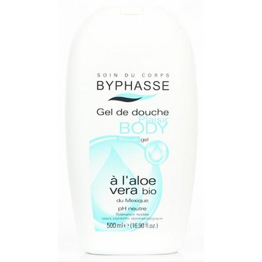 Gel tắm dưỡng ẩm mịn da chiết xuất nha đam Byphasse 500ml