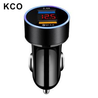 Củ Sạc KCO Baseus C63 2 Cổng USB Không Dây Giúp Sạc Nhanh QC 3.0 5.4A 12V 24V Dùng Cho Xe Hơi thumbnail