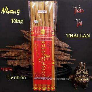 [Tem Chính Hãng] Nhang, Hương Thái Lan tài lộc cuộn tàn ít khói Loại 79 nén và loại lớn 185 nén