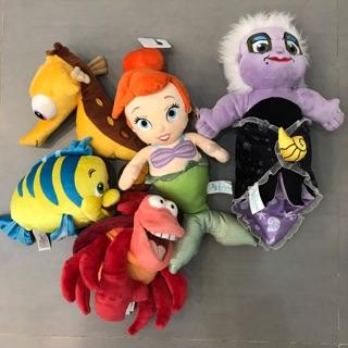Thanh lý set đồ chơi thú bông Nàng tiên cá
