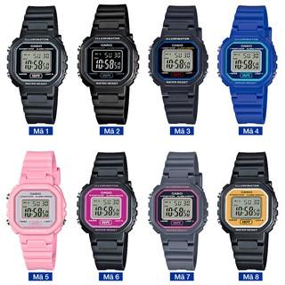 Đồng hồ nữ dây nhựa Casio Standard chính hãng Anh Khuê LA-20 Series thumbnail