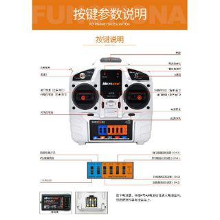 Bộ điều khiển MC6 TX và RX MC6
