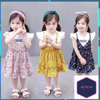 Thời trang trẻ em ❤️ HÀNG ĐẸP ❤️ FREESHIP ❤️ Váy hoa nhí Bé gái VHN502805.1 ❤️ Phong cách Hàn Quốc ❤️ Cotton