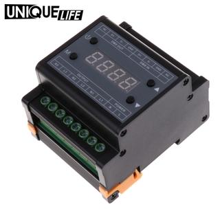 [Unique Life] Smart Lighting DMX Triac Dimmer Brightness LED Light Controller AC 90-240V