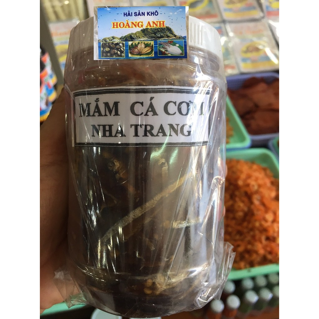 Mắm cá cơm con nguyên chất đặc sản nha