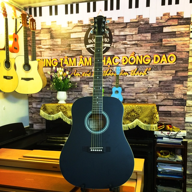Đàn Guitar Aucostic Deviser F-440 tặng bao da 3 lớp + capo + pic gẩy + lục chỉnh cần