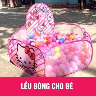 [SIÊU HOT] Nhà bóng loại To, lều bóng tặng kèm 100 quả bóng nhựa cho bé