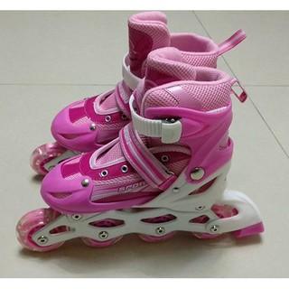 giày patin màu hồng cho bé gái