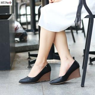 Giày đế xuồng - gia y đe xuo ng nu HT.NEO đế xuồng 7 phân cực sang chảnh cực đẹp, thiết kế sang nhiều màu CS69 thumbnail