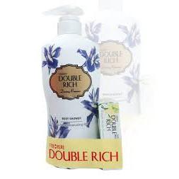 Sữa tắm double rich 550gr tặng xà bông tắm