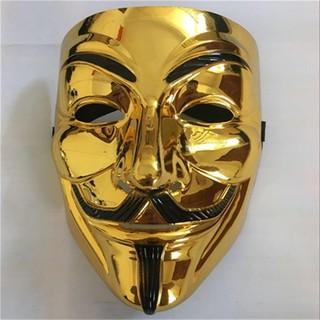 mặt na hacker halloween màu vàng TT50 mã TBM40 mã MUY65