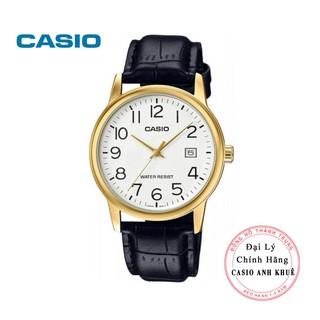 Đồng hồ nam Casio MTP-V002GL-7B2UDF dây da