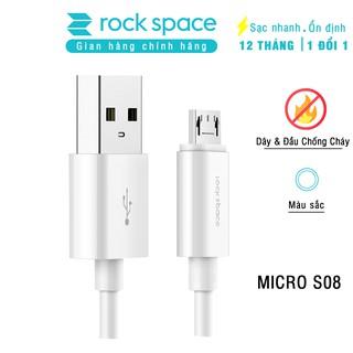 Cáp sạc Rockspace chuẩn mirco S08 100cm - Chính hãng Rockspace