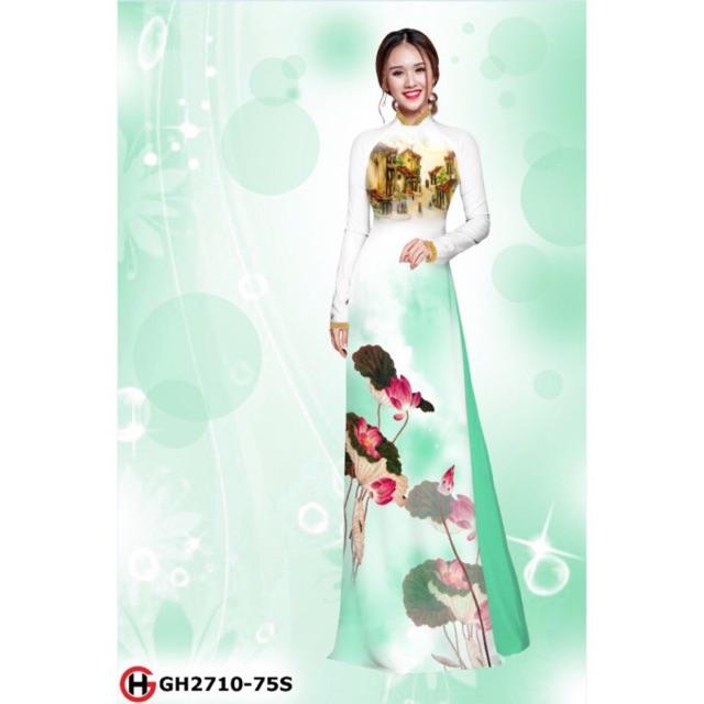 Vải áo dài hoa sen 2710 - 2993542 , 929897829 , 322_929897829 , 230000 , Vai-ao-dai-hoa-sen-2710-322_929897829 , shopee.vn , Vải áo dài hoa sen 2710