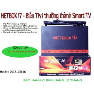 NETBOX I7 – Hộp truyền hình internet 4K