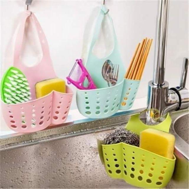 Giỏ treo rẻ rửa bát, đựng đồ trong nhà tắm, nhà bếp