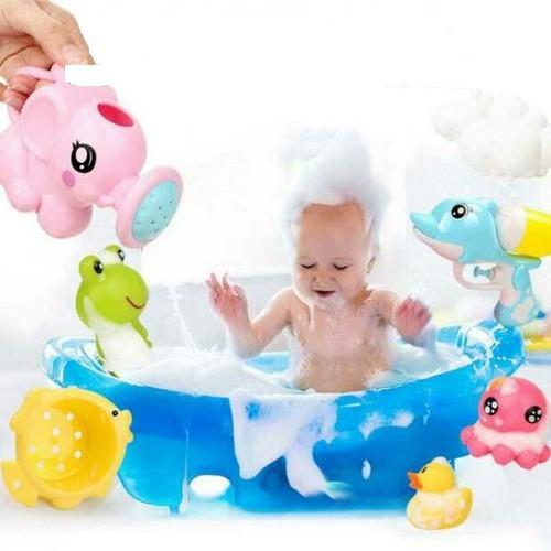 Giỏ đồ chơi nhà tắm cho bé yêu