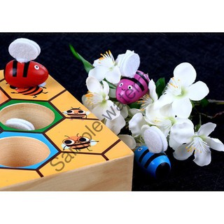 [ Giá Rẻ Nhất ] Đồ Chơi Cao Cấp Bắt Ong Vào Chuồng Đúng Màu Cho Bé BMBE1044