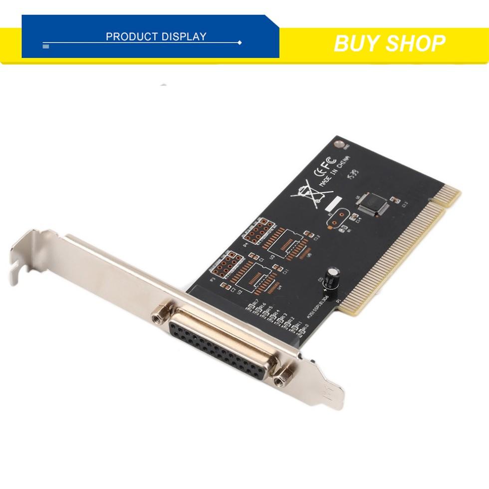 Card máy tính chuyển đổi cổng PCI sang LPT