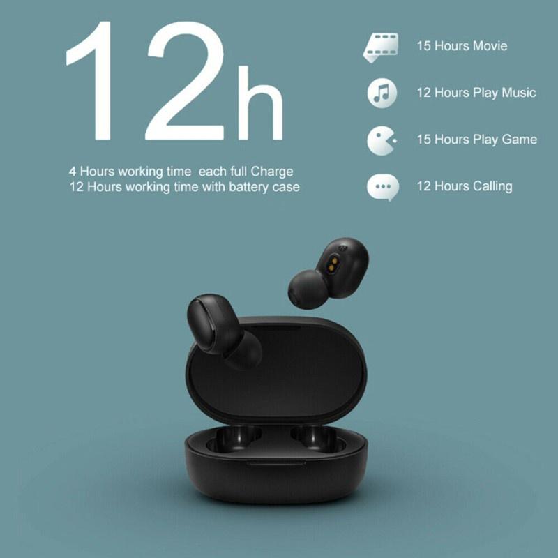 Tai Nghe Bluetooth 5.0 Không Dây Cre Tws Chống Ồn Có Mic Cho Redmi Air