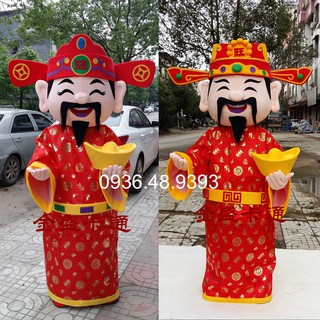 Quần áo hoá trang Mascot Ông Thần Tài – khai trương, khánh thành, sự kiện