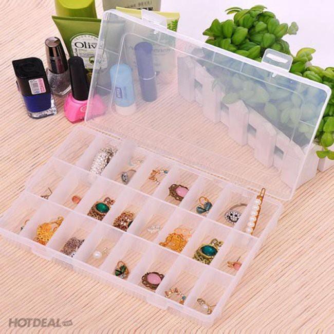 Hộp Nhựa Chia Ngăn 10-15-24 ngăn