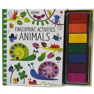 Đồ chơi vẽ vân tay Fingerprint activities Animals