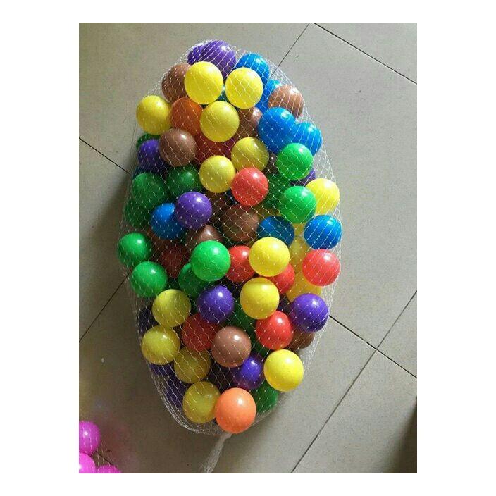 Combo 400 quả bóng nhựa cho bé nhiều màu sắc