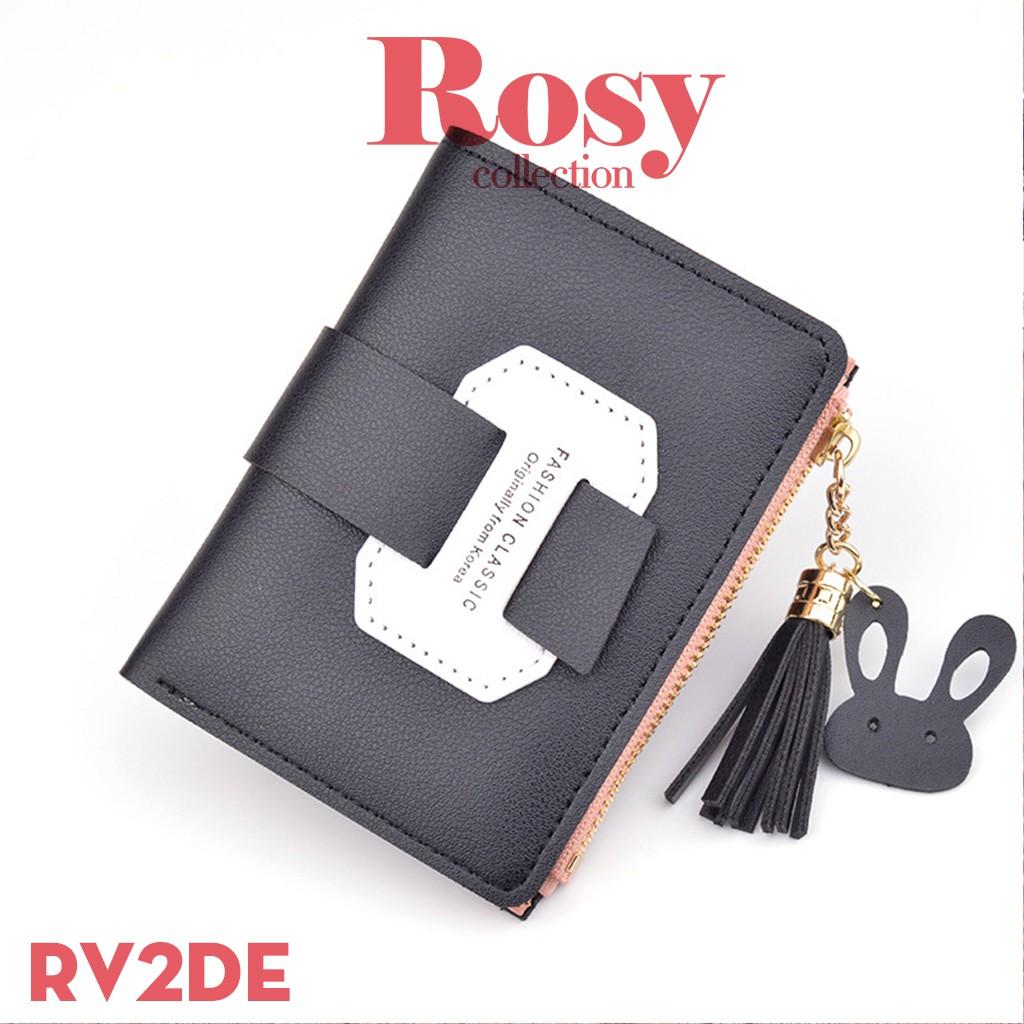 Ví nữ, ví cầm tay ROSY RV2 mini tuổi teen nhỏ gọn, tiện lợi đựng tiền, giấy tờ free ship