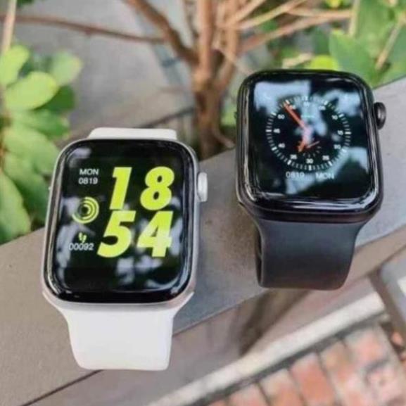 Smart Watch T500 Seri5 Thay Dây kết nối bluetooth 44mm Đo nhịp tim Chống nước I LOVE CASE [vthm9]