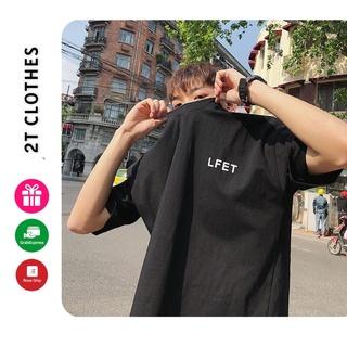 Áo Thun Tay Lỡ LF84 🌸[𝐂𝐎𝐓𝐓𝐎𝐍] Unisex phông form rộng Unisex nam nữ phong cách Ulzzang