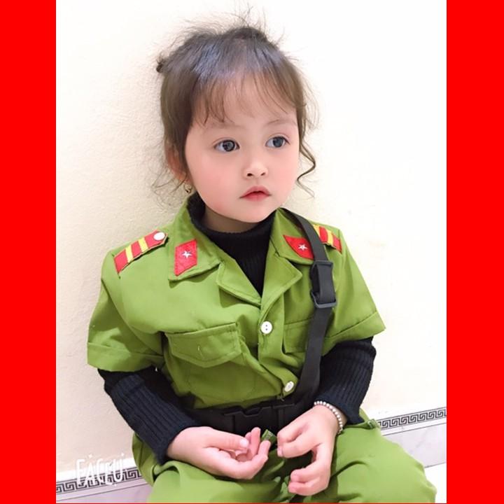 Bộ công an cho bé siêu dễ thương