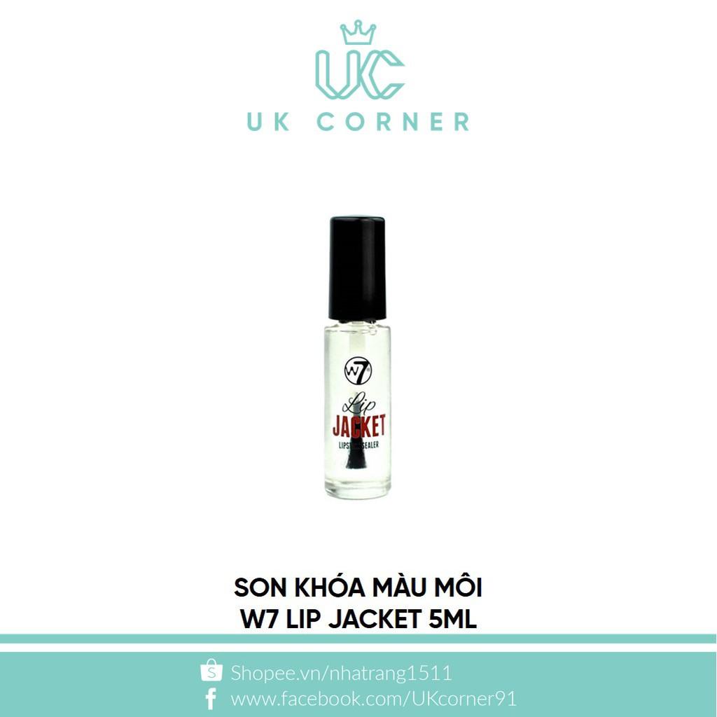 Son khóa màu môi W7 Lip Jacket 5ml