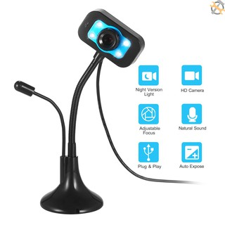 Webcam Mini Kèm Mic Cho Máy Tính