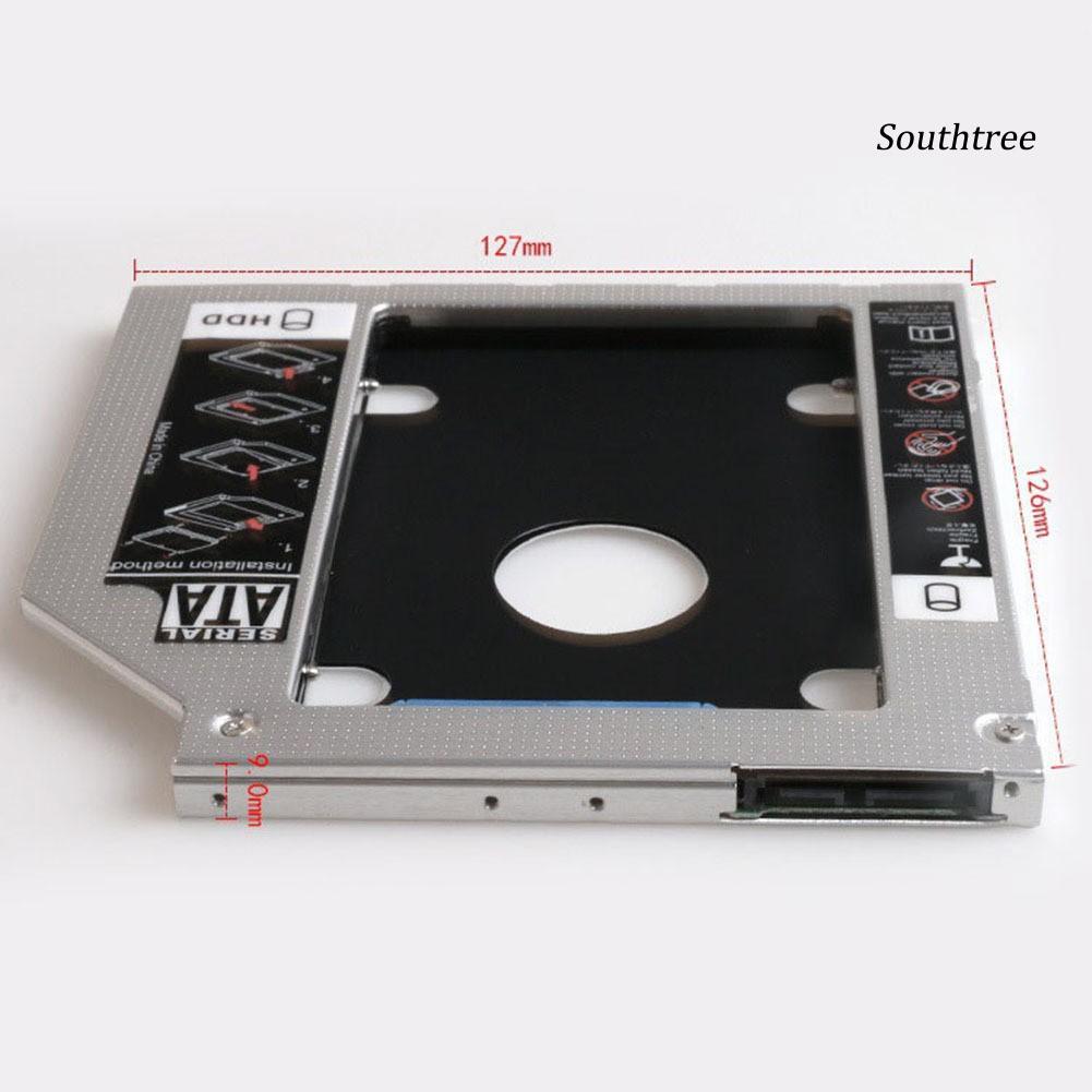 Khay Đựng Ổ Cứng Ssd Sata3 Bằng Hợp Kim Nhôm 9.5mm