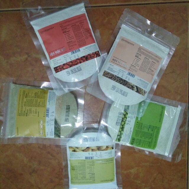 Combo 5 loại bột dưỡng da Milaganics