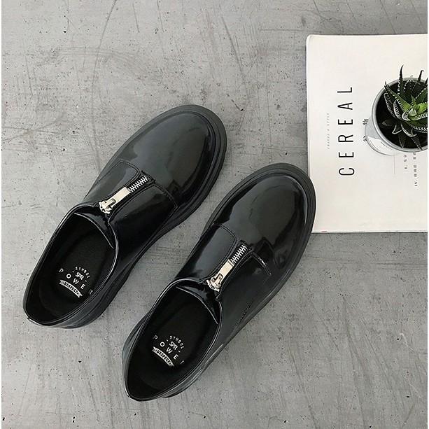 Giày Da Nam Thời Trang VIP Cao Cấp Phong cách Lịch Lãm pha chút cá tính phong cách Hàn Quốc -GD6